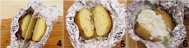 Patate al cartoccio bavaresi