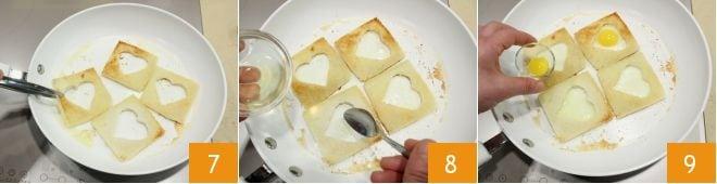 ricetta uova di quaglia in cuore di pane - la ricetta di ... - Cucinare Uova Di Quaglia