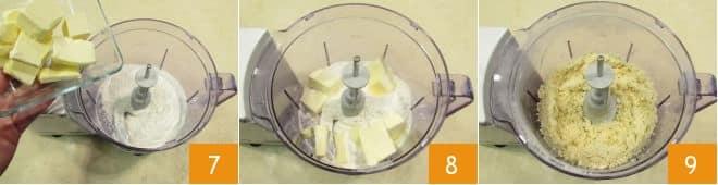 Torta salata tricolore