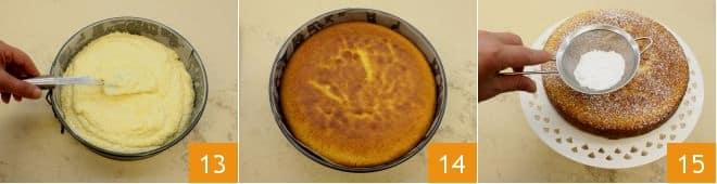 Torta di mais (Bolo de fubà)