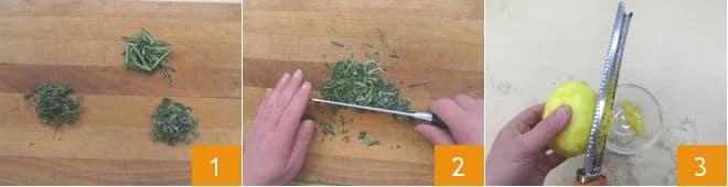 Tacchino alle erbe e insalata esotica