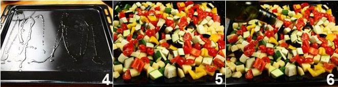 Ruota di luganega con verdure al forno
