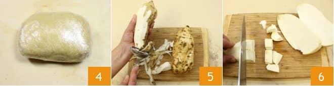 Torta di patate dolci