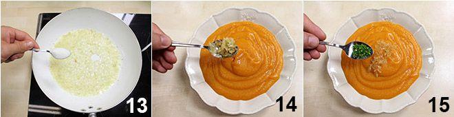 Vellutata di carote alla cannella