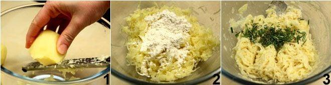 Frittelle croccanti di patate