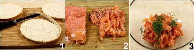 Uova in cocotte con salmone