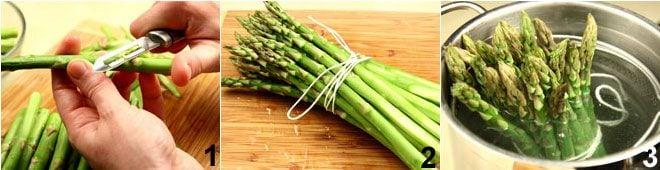 Asparagi allo zabaione salato