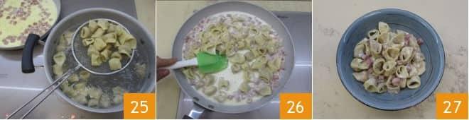 Tortellini panna e prosciutto