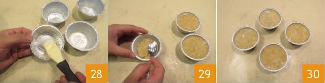 Tortini di canocchie