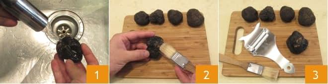 Fettuccine al tartufo