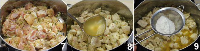 Spezzatino di pollo