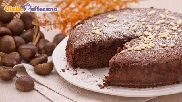 torta di castagne e cioccolato Preview