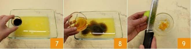 Salmone glassato al miele