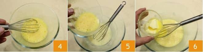 Tortini al cioccolato bianco, latte condensato e lamponi
