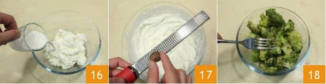 Cannelloni con crema di broccoletti alla ricotta e ragù speziato