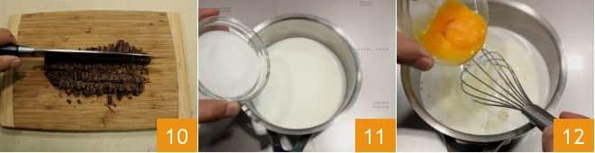 Rotolo alla crema di nocciole