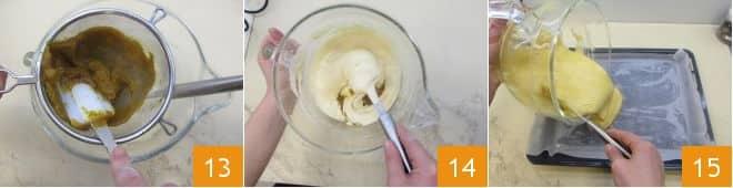 Rotolo alla zucca con ricotta e gocce di cioccolato