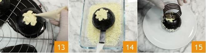 Ricetta zuccottini al cioccolato la ricetta di for Decorazione zuccotto