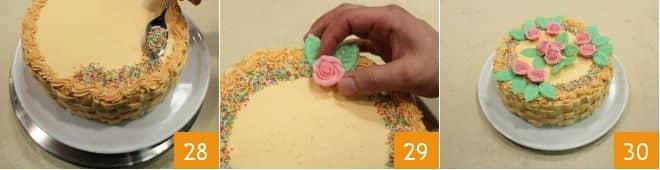 Ricetta torta cestino la ricetta di giallozafferano for Decorazione a canestro