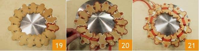 Corona di pan di zenzero