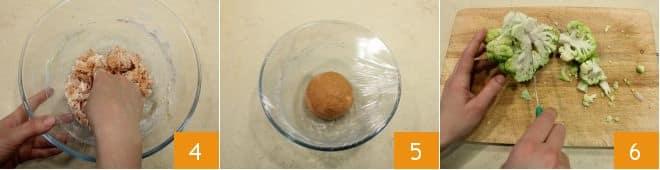 Strudel rosso al pomodoro con ripieno di tonno, broccolo e porro