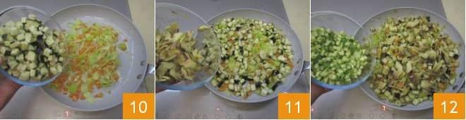 Involtini fritti con verdura e mazzancolle