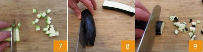 Mini strudel filanti con verdure