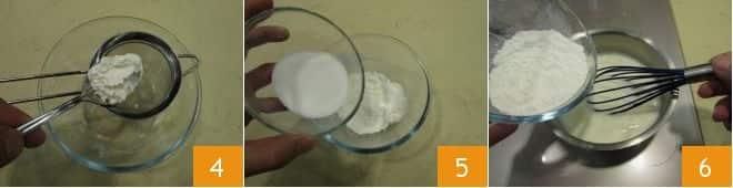 Ovetti ripieni di crema e albicocca