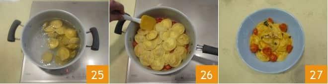 Ravioli ripieni di trota salmonata