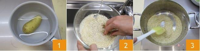 Mini burger di quinoa