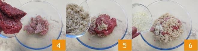 Polpettine in crosta di sesamo