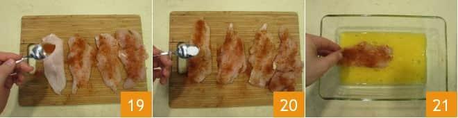 Petto di pollo ai corn flakes