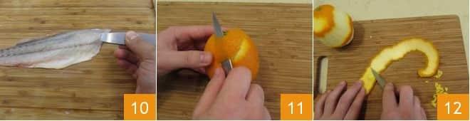 Ombrina al cartoccio al profumo d'agrumi