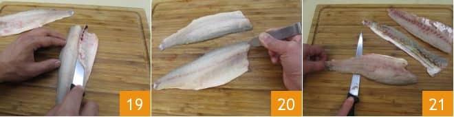 Ravioli di pesce con pomodorini
