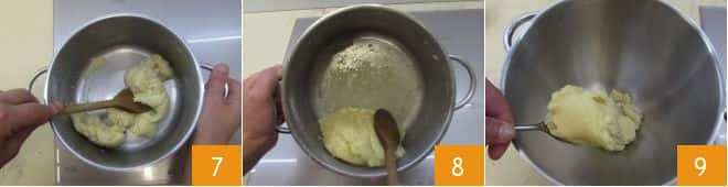 Profiteroles al cioccolato bianco