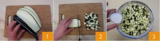 Casarecce moscardini e melanzane