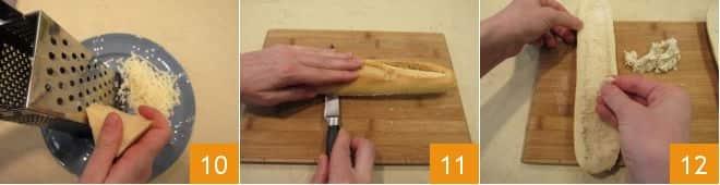Croque baguette