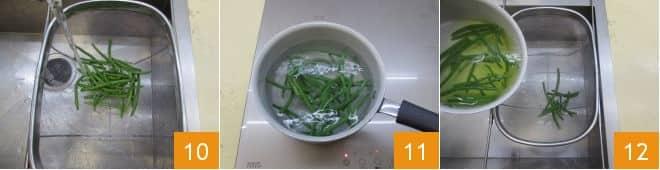 Involtini di pollo e fagiolini