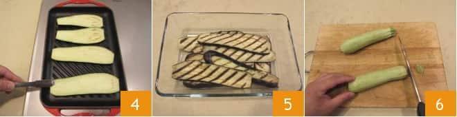 Fusilli bucati melanzane e zucchine con primosale