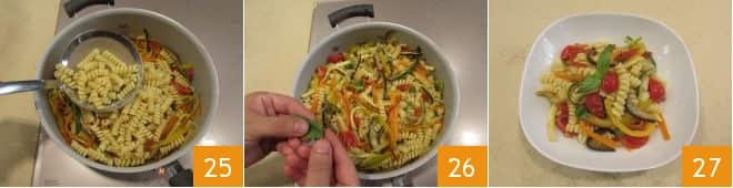 Fusilli all'ortolana