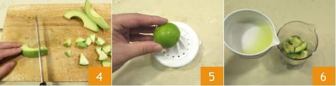 Finta maionese di avocado