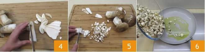 Soufflé ai funghi