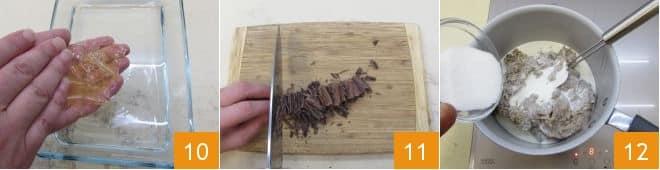 Budino di castagne