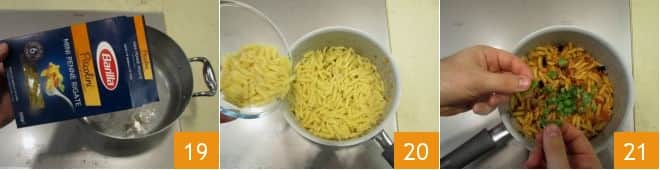 Mini penne alla siciliana
