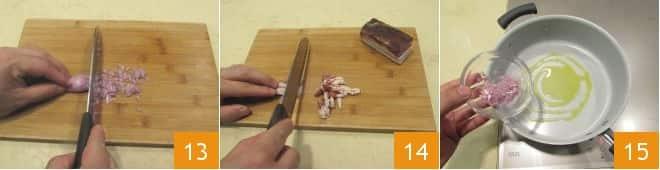 Timballo di verza con fonduta di taleggio
