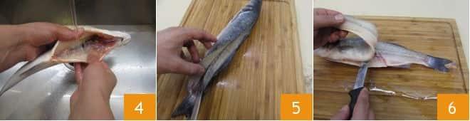 Come pulire il branzino (spigola)