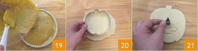 Crostata alla zucca e latte condensato