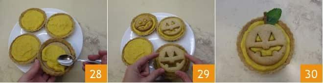 Tartellette dolci di Jack O' Lantern