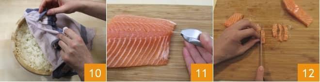 Temaki di salmone