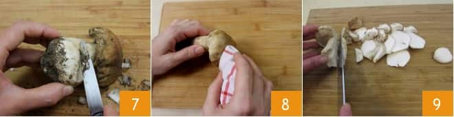 Tagliatelle ai funghi porcini